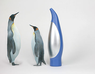 Vacuum Forming Project: Penguin Shaped Bottle