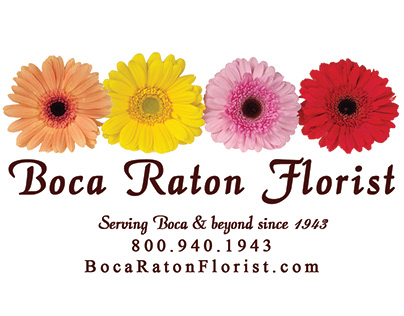 Boca Raton Florist Logo
