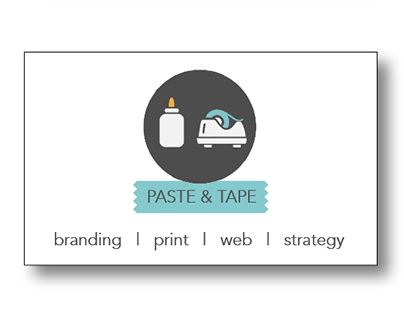 Paste & Tape Business Card