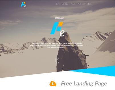 Fe - Responsive Webdesign Template