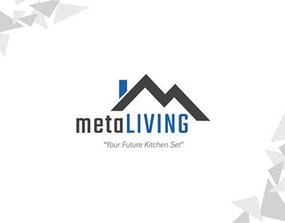 metaLIVING identity design