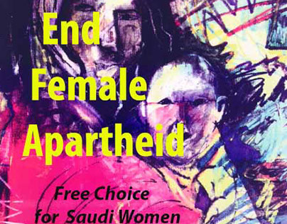 End Female Apartheid Poster