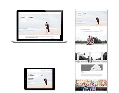 Noelle and Jeremy's Wedding Website