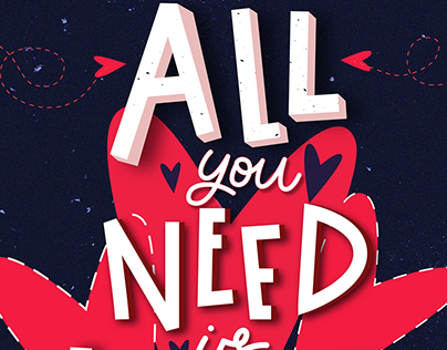 Lettering Art, Calligraphy, Posters, Postcards