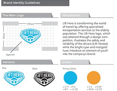 Lift Hero Branding Guidelines