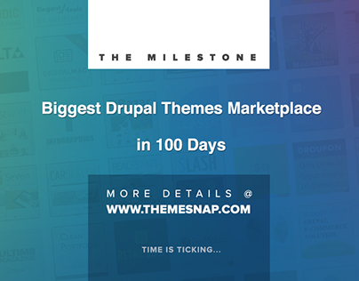 Biggest Drupal Themes Marketplace Milestone