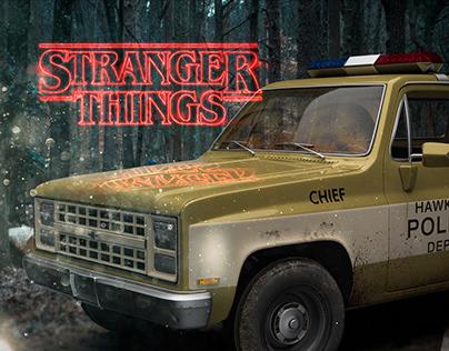 Stranger Things Chevrolet Truck