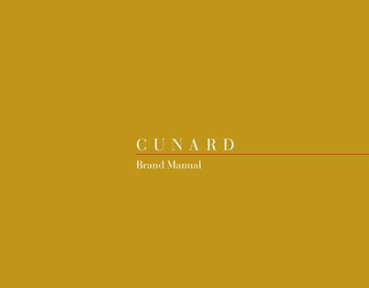 Cunard - Corporate, Brand Manual (propostal)