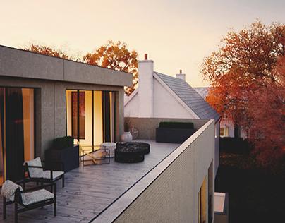 Viz of the house in Bonn