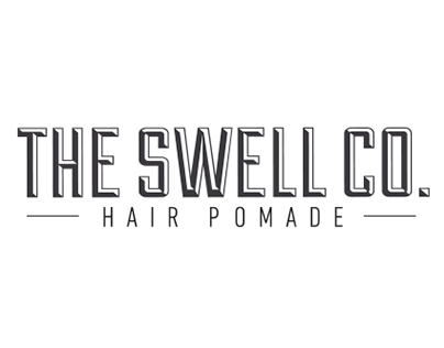 Identity | The Swell Co. - Hair Pomade Label Design
