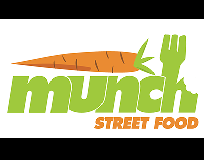 Munch Street Food Re-brand