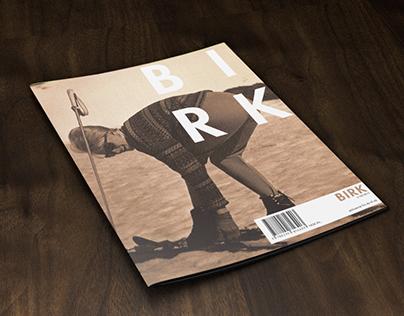 BIRK – Magazine cover