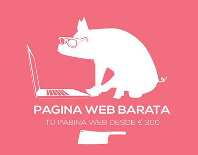 test pagina web barata