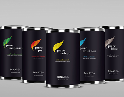 DinaTea – Branding and packaging