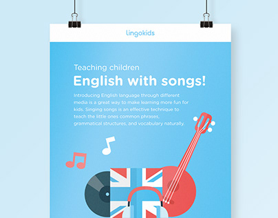 Infografía. Teach English with songs