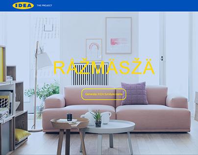 IKEA FURNITURE NAME GENERATOR