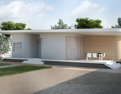 House in Kenya Architectural design and visualization