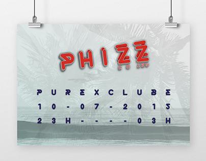 Phizz djset // poster