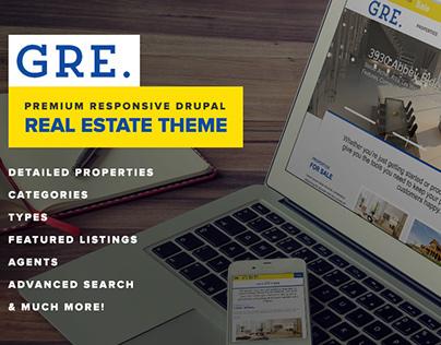 GRE - Responsive Real Estate Drupal Theme