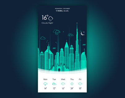 Night Weather App
