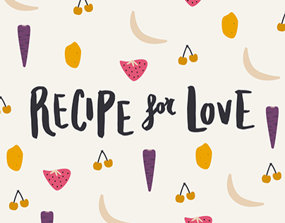 Recipe for Love - Illustrations