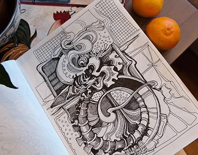 Sketchbook 2014 (vol.5)