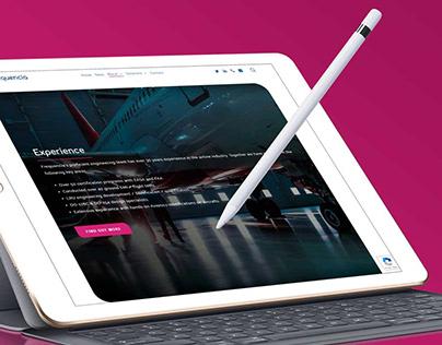 Corporate Website Design Inspiration: Frequencia Ltd.