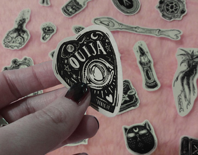 ☽ Witchy Stickers ☾