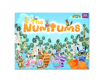 BBC CBeebies TV property development, The Numtums