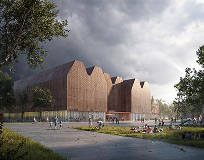 New Library in Rostock   Nieto Sobejano