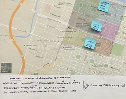 Service Design | Design Research | Walkability