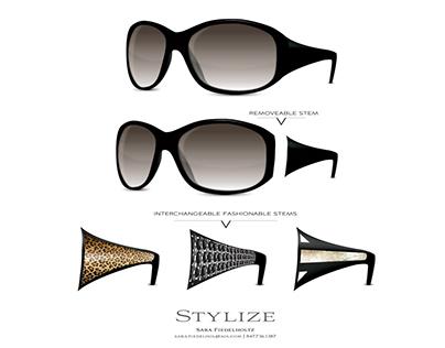 Stylize - Fashion Eyewear Prototype Illustration & Logo