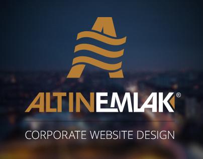 Altin Emlak Website