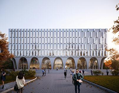 Hankuk University of Foregn Studies Library