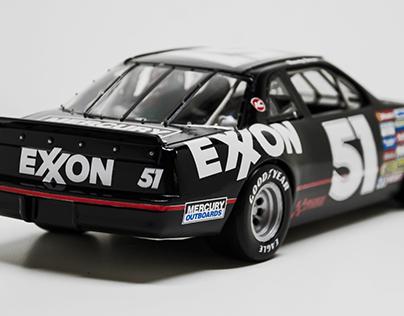1/18 Scale Exxon Stock Car Replica