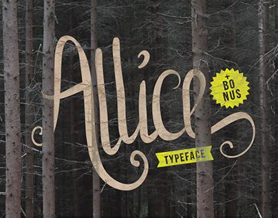 Allice Typeface