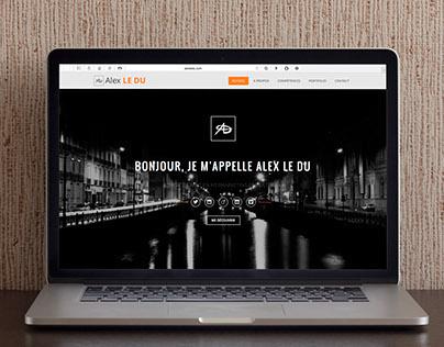 Webdesign - Alex Le Du