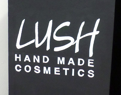Lush Cosmetics Rebrand