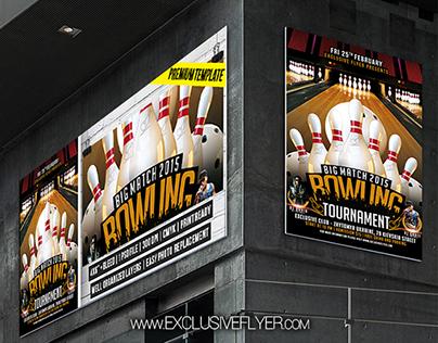Bowling Tournament – Premium Flyer Template