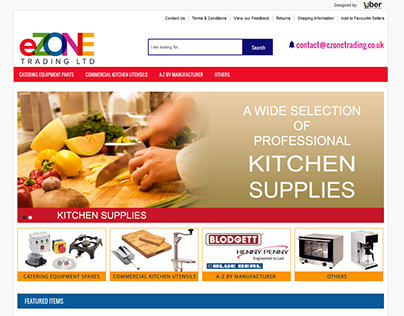 eZoneTrading ebay shop design