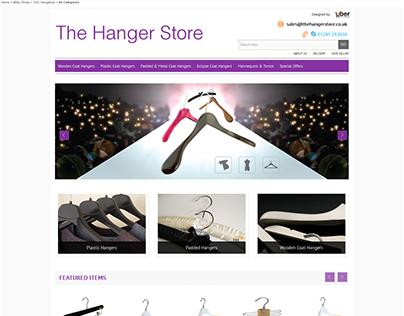 The Hanger Store ebay store design
