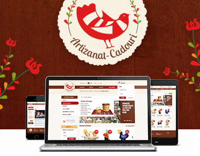 Client: Handicraft - Logo and Web Design project