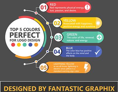 Top 5 logo Design Colors 2020