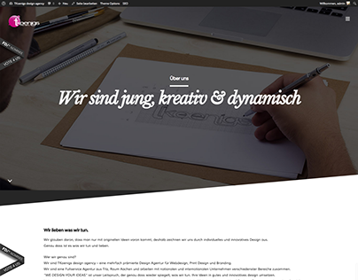 TKoenigs design agency - relaunch
