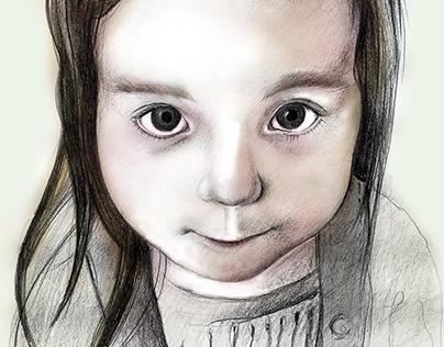 Daughter Portrait II.