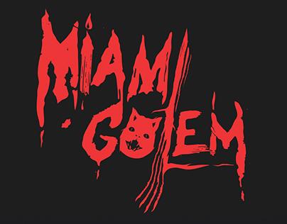 Miami Golem / Logotype and T-shirt