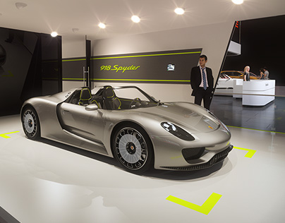 Infusion Studios Auto Show Visualization Reel 2014