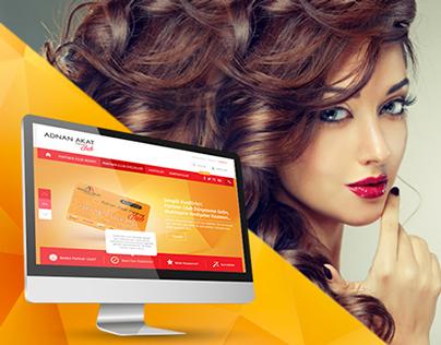 Adnan Akat Partner Club | Web UI/UX Design