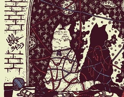 Annalibera Gig Poster  2.7.15