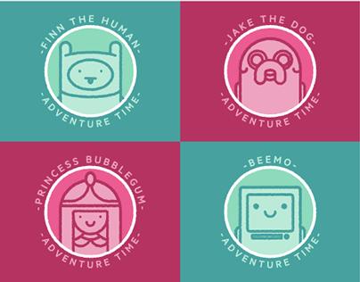 Adventure Time // DIY Coasters